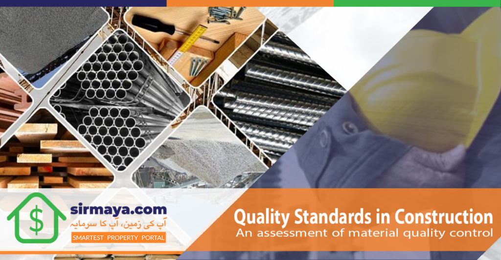 Quality Standards in Construction: An Assessment of Material Quality Control