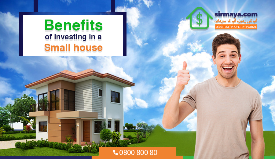 Benefits of investing in a small house
