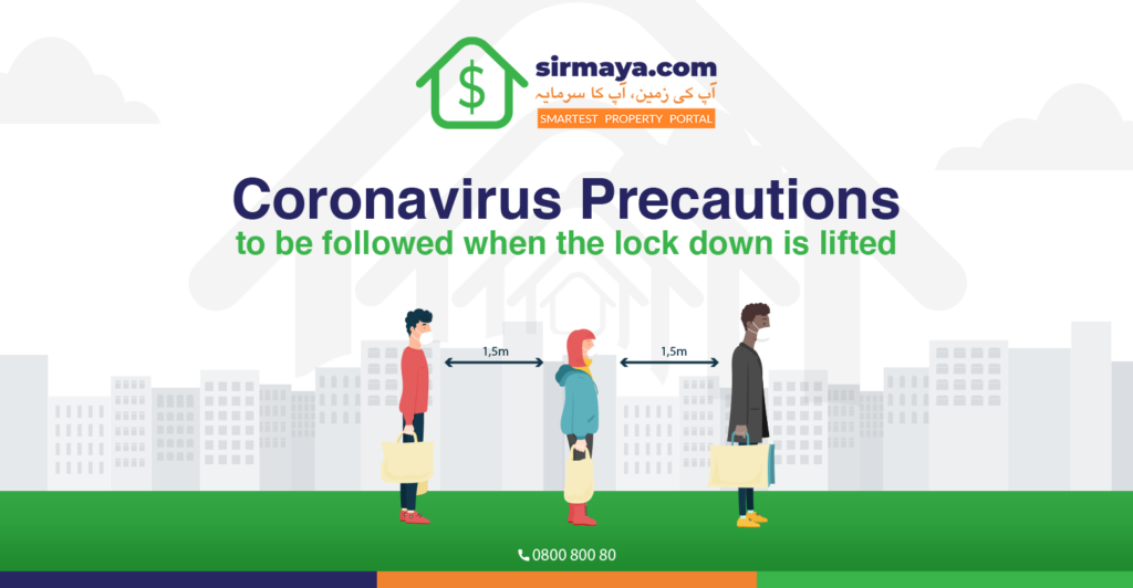 Corona virus Precautions to be followed when the Lock Down is lifted