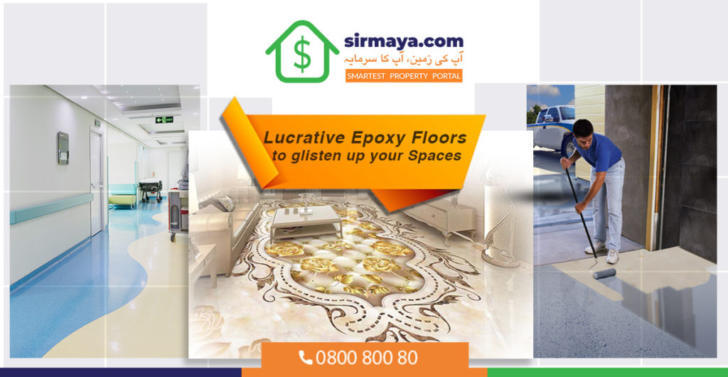 Lucrative Epoxy Floors to glisten up your Spaces