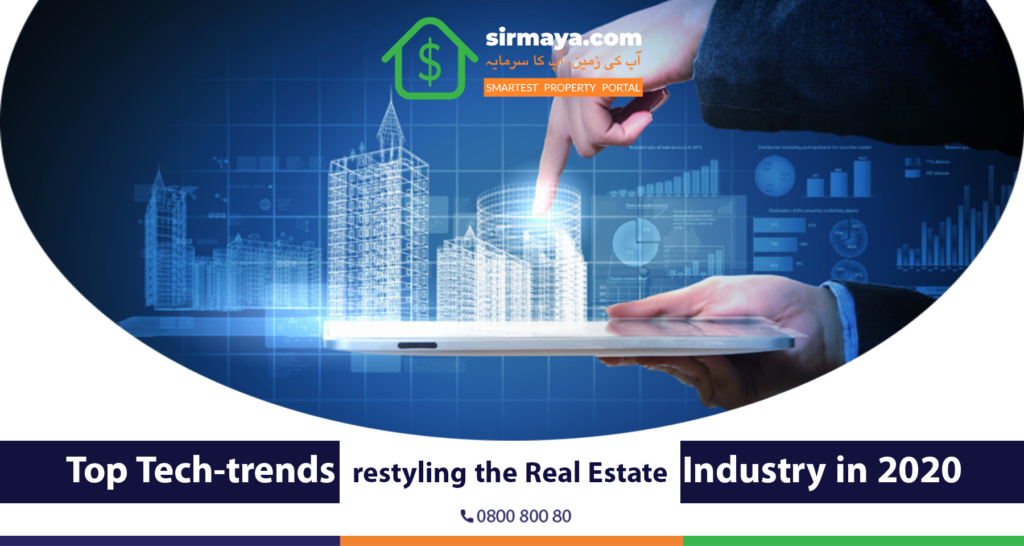 Top Tech-trends restyling the real estate industry in 2020
