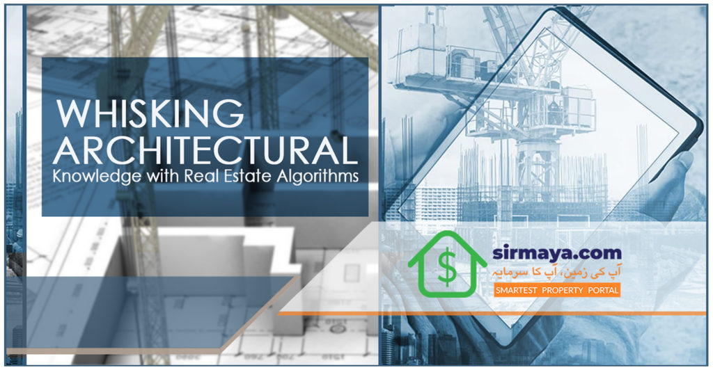 Whisking Architectural knowledge with real estate algorithms