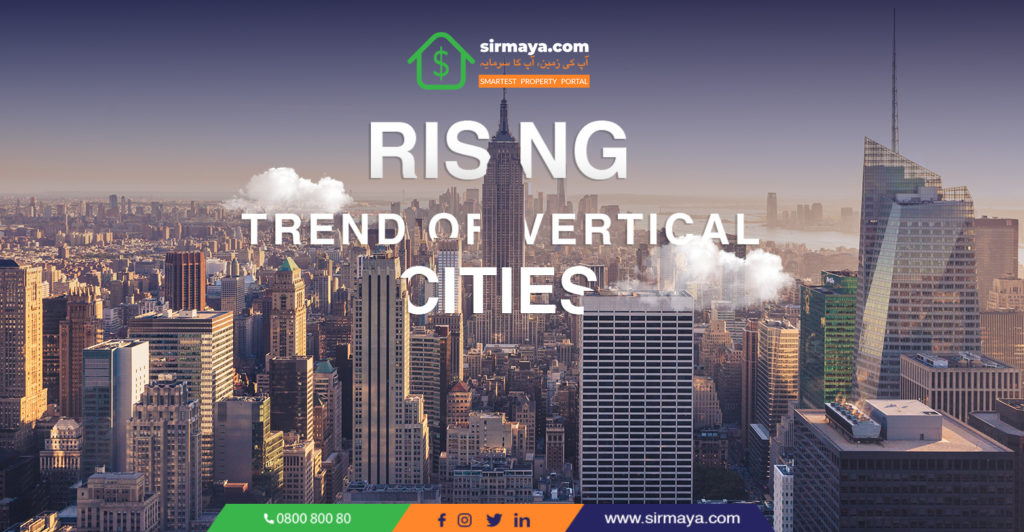 Rising Trend of Vertical Cities
