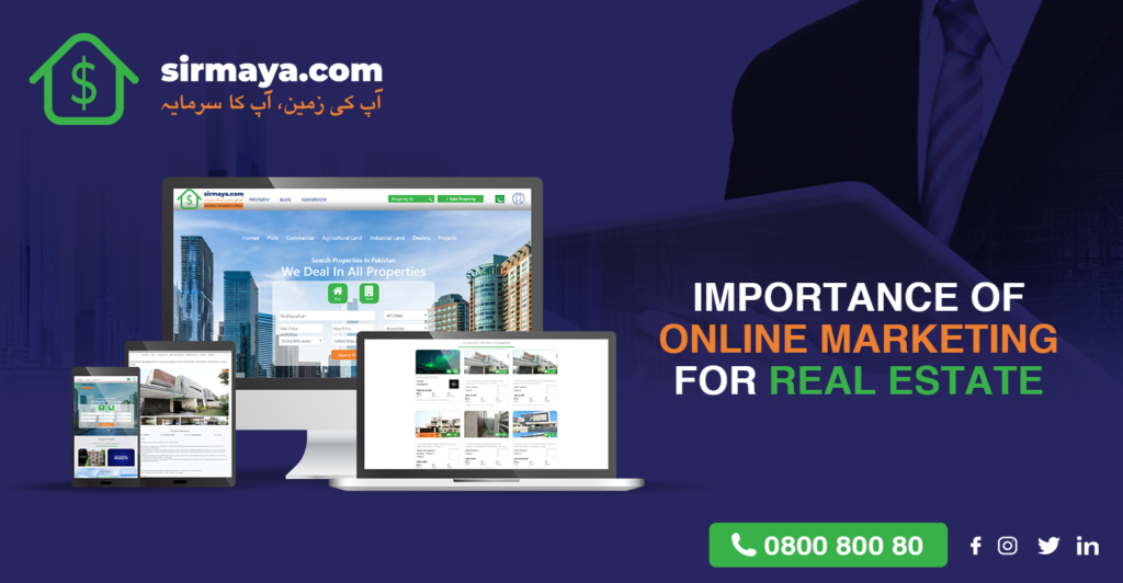 Importance of Online Marketing for Real Estate