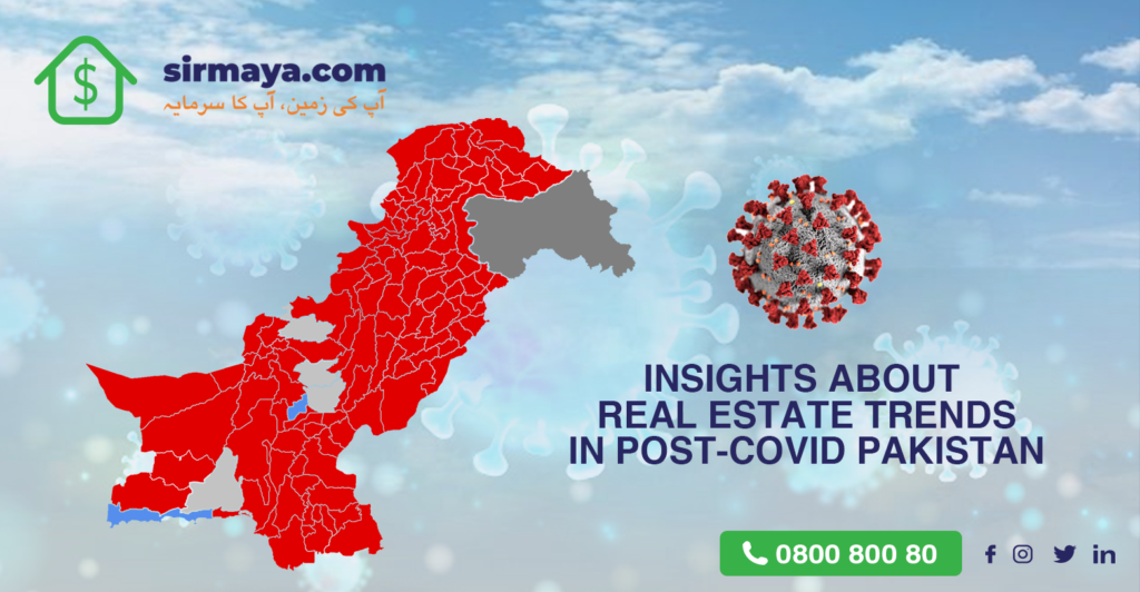 Insights about Real Estate Trends in Post-COVID Pakistan