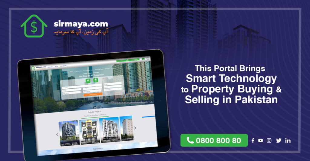 This Portal Brings Smart Technology to Property Buying & Selling in Pakistan