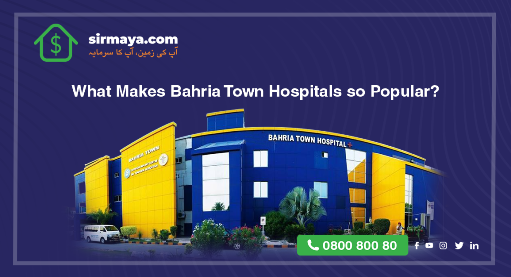 What makes Bahria town so popular?