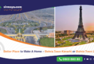 Better Place to Make Home – Bahria Town Karachi or Bahria Town Lahore?