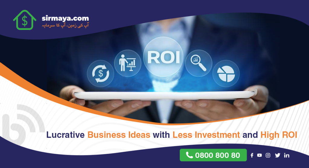 Lucrative Business Ideas with Less Investment and High ROI