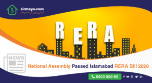 National Assembly Passed RERA Bill 2020