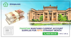 Pakistan maintains current account surplus for a fifth straight month