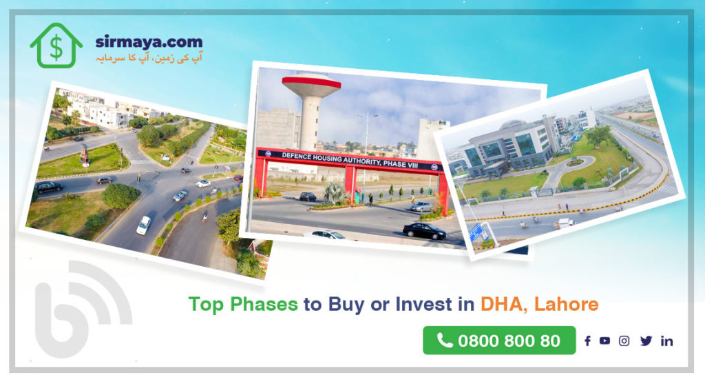 Top Phases to Buy or Invest in DHA Lahore