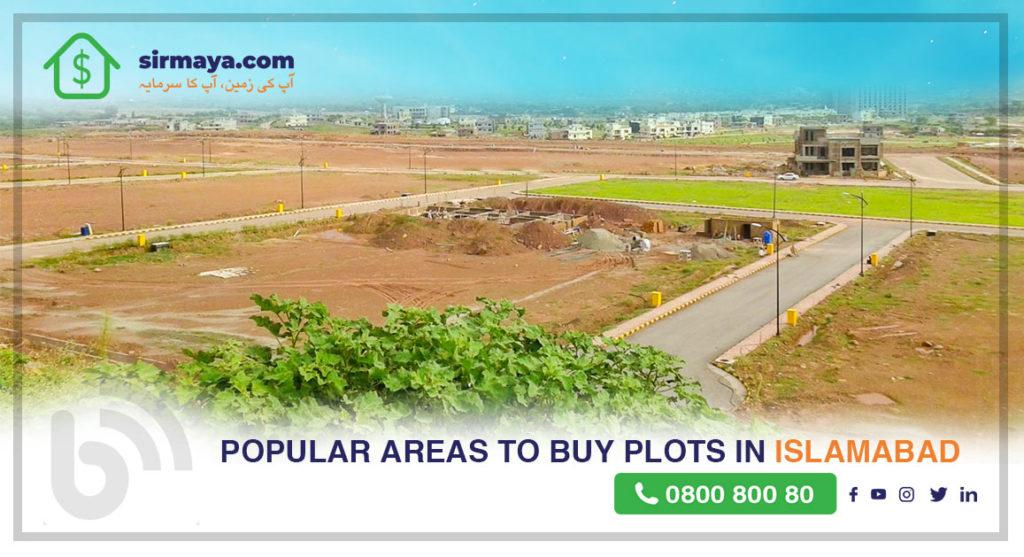 Popular Areas to Buy Plots in Islamabad Pakistan