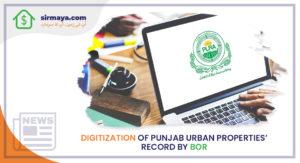 Digitization of Punjab urban properties' record by BOR