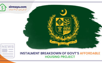Installment breakdown of govt's affordable housing initiative unveiled