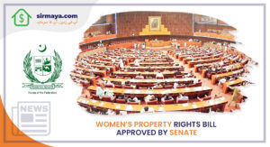 WOMEN'S PROPERTY RIGHTS BILL APPROVED BY SENATE