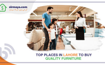 Top Places in Lahore to Buy Quality Furniture