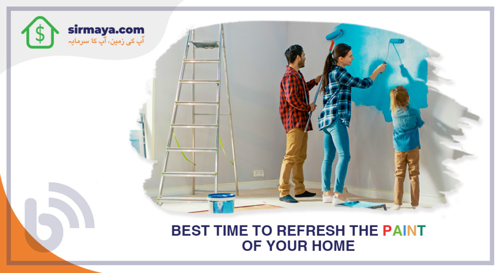 Best times to refresh the paint of your home