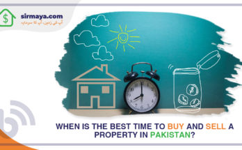 When is the best time to buy and sell a property in Pakistan?