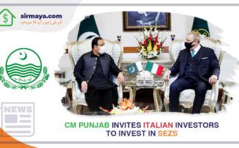 CM Punjab Invites Italian Investors to invest in SEZs