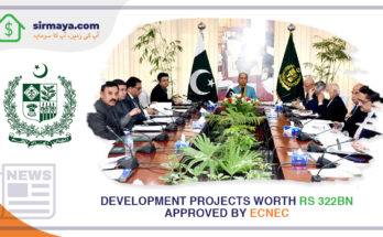 Development projects worth Rs 322bn approved by ECNEC