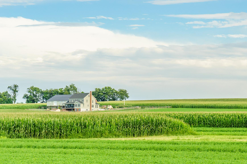 farmland house