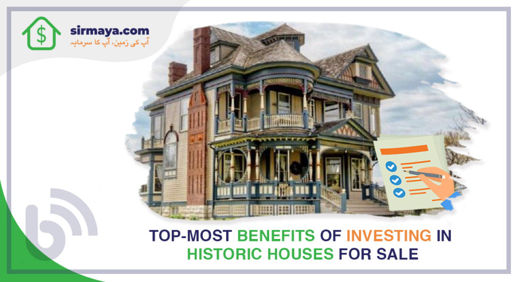 Top-Most Benefits of Investing in Historic Houses for Sale