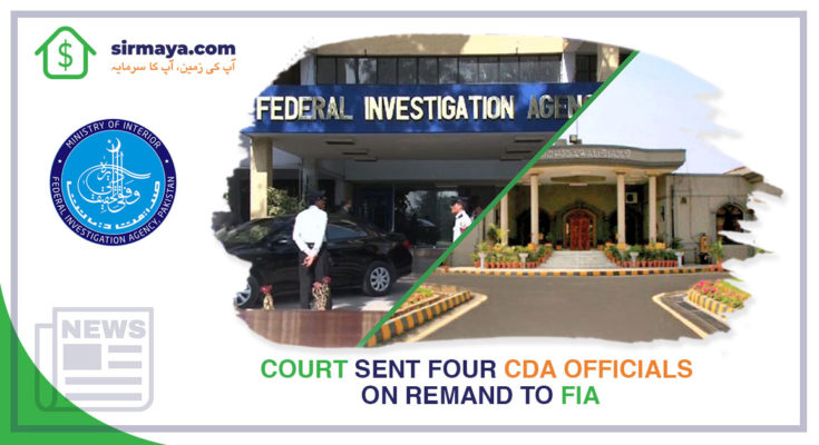 four cda officials on remand