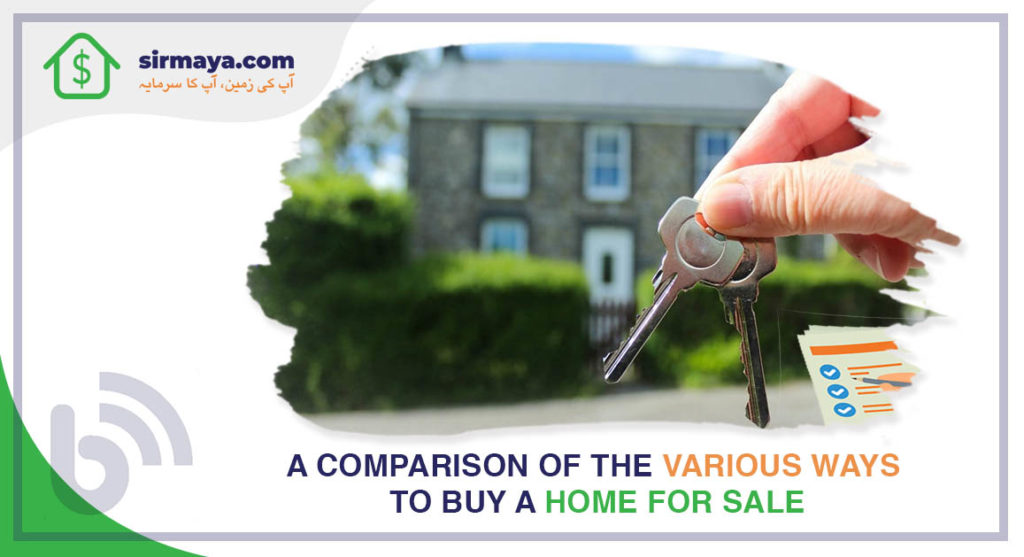 A Comparison of the Various Ways to Buy a Home for Sale