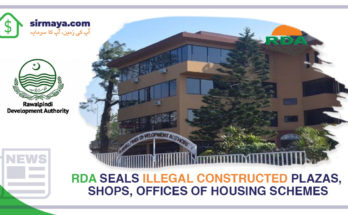 RDA Seals Illegal Constructed
