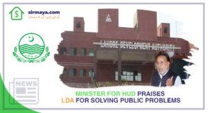 Minister for HUD Praises LDA for Solving Public Problems