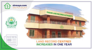Land Record Centres Increases in One Year