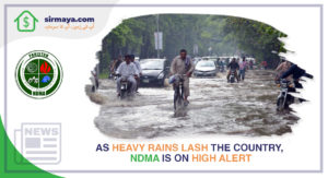 As Heavy Rains Lash the Country, NDMA Is on High Alert