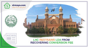 LHC Restrains LDA from Recovering Conversion Fee