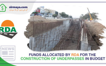 construction of underpasses