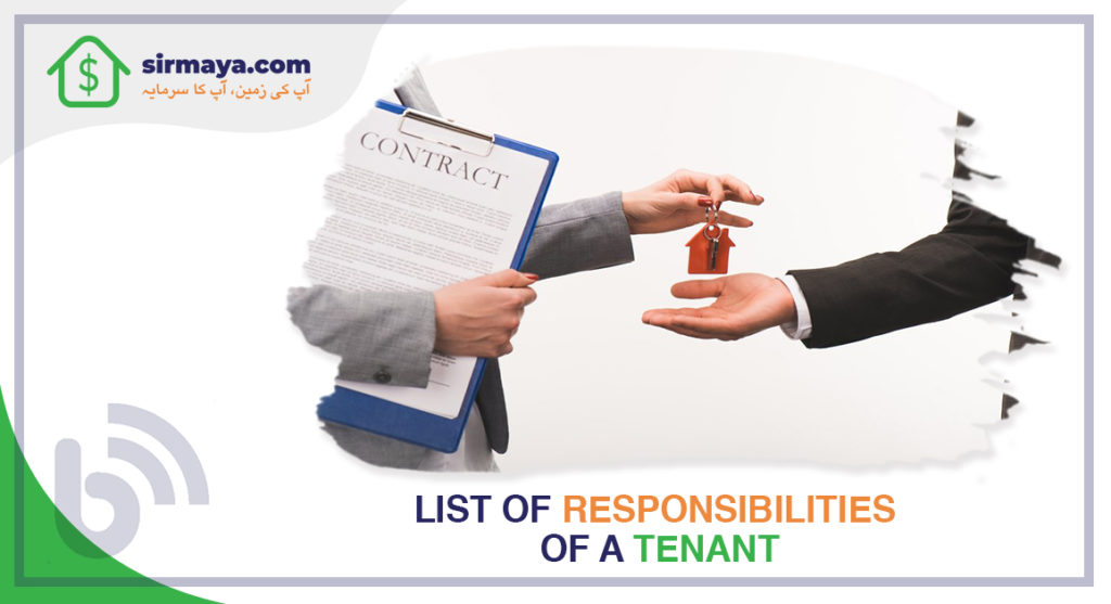 List of Responsibilities of a Tenant