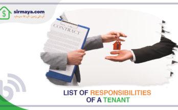 Responsibilities of a Tenant