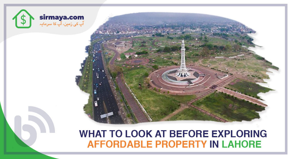 What to Look at Before Exploring Affordable Property in Lahore