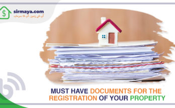 Documents for the Registration of Your Property