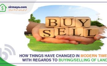 buying selling land