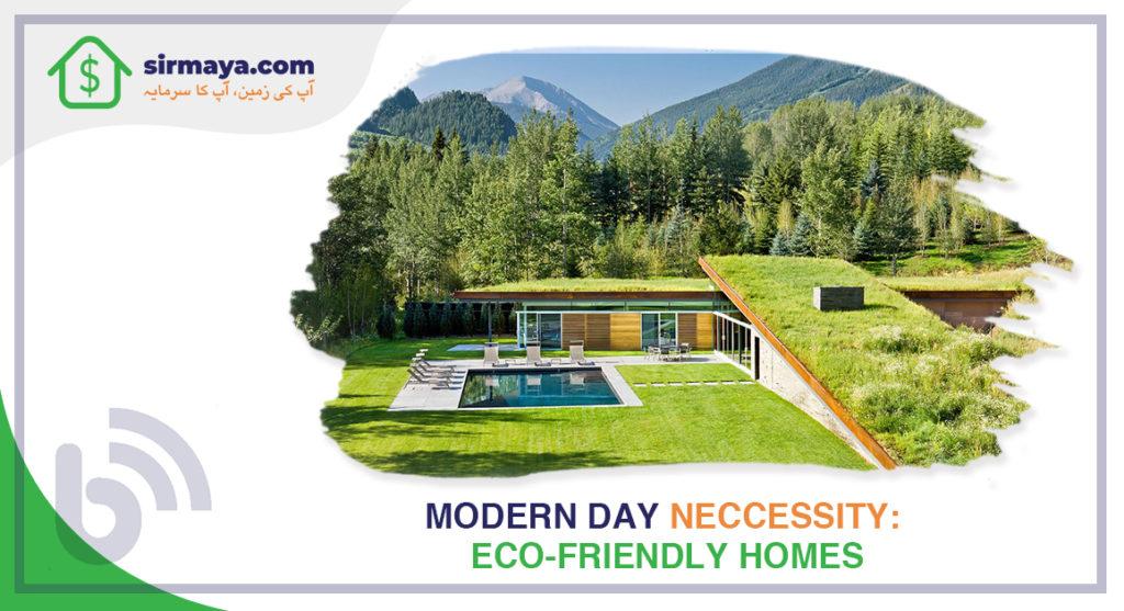 Modern-Day Necessity: Eco-Friendly Homes