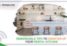Smarten Up Your Rental Kitchen