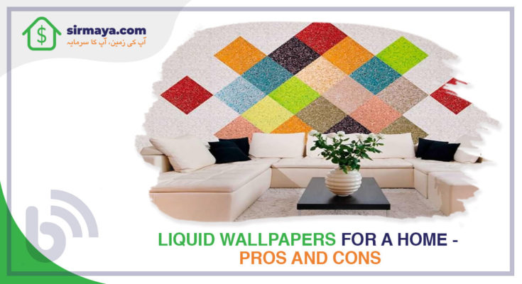 Liquid Wallpapers for a Home – Pros & Cons