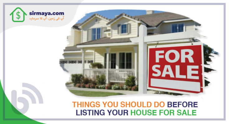 Things you should do before listing your house for sale